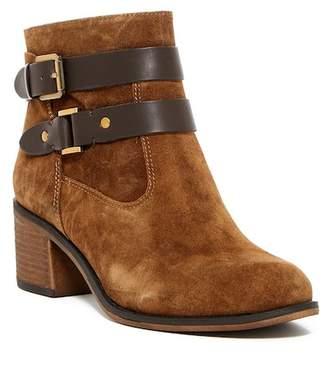 Franco Sarto Linden Block Heel Bootie $148.95 thestylecure.com