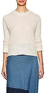 Derek Lam 10 Crosby Women's Linen-Cashmere Open-Back Sweater - Ivorybone