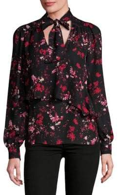 Parker Layered Tie Blouse