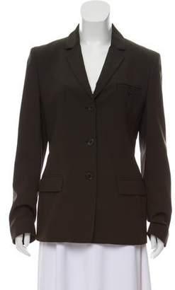 Calvin Klein Wool Silk-Lined Blazer