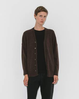 Pas De Calais Brown Cardigan