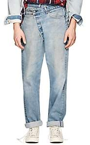 R 13 Men's Crossover Distressed Straight Levi's® Jeans-Blue