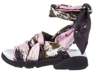 Christian Dior Brooklyn Printed Sandals