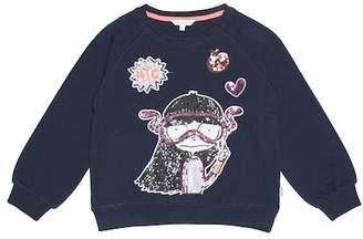 Little Marc Jacobs Miss Marc cotton sweatshirt
