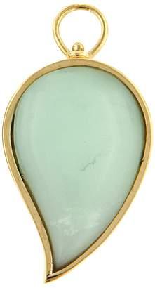 Marla Aaron Large Paraiba Opal Drop Charm - Yellow Gold