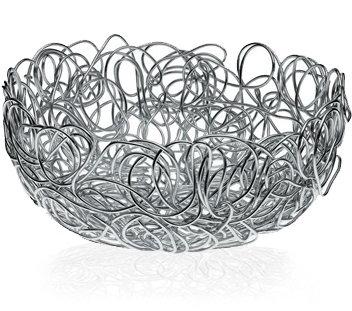 Alessi nuvem, round wire basket