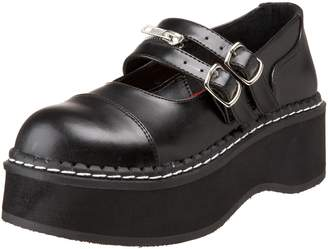 Pleaser USA Demonia By Women's Emily-306 Mary Jane Flat
