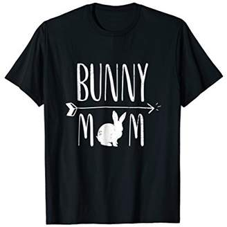 Bunny Mom Funny Bunnies White Rabbit Gift T-Shirt - White