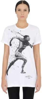 Limit.ed Printed Cotton Jersey T-Shirt