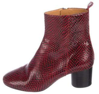 Etoile Isabel Marant Dayssa Leather Ankle Boots