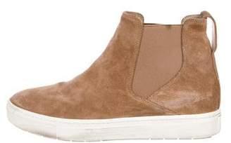 Vince Suede High-Top Sneakers