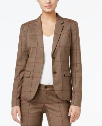 Tommy Hilfiger Classic Glen Plaid Blazer, Only at Macy's $139.50 thestylecure.com