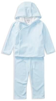 Ralph Lauren Boys' Velour Hoodie & Sweatpants - Baby