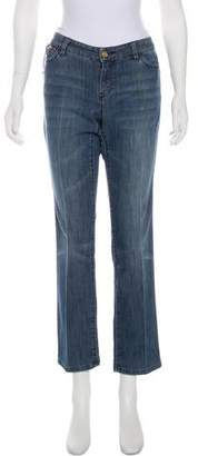 Michael Kors Low-Rise Straight Jeans