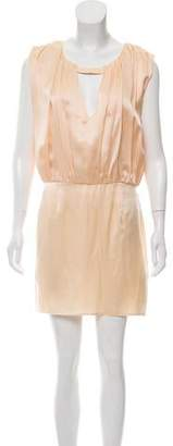 Opening Ceremony Silk Open-Back Dress w/ Tags