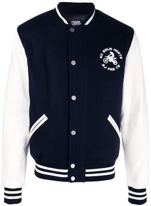 Karl Lagerfeld Sebastien Varsity jacket