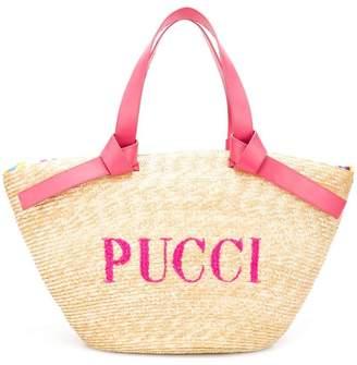 Emilio Pucci (エミリオプッチ) - Emilio Pucci Rascello ロゴ トートバッグ