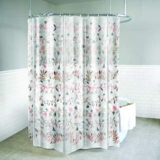 """Splash Home Ivy PEVA Shower Curtain, 72"""" x 70"""", Blush"""