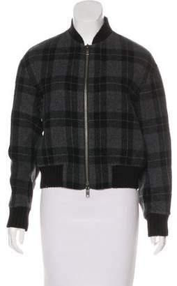 Vince Plaid Wool Jacket w/ Tags