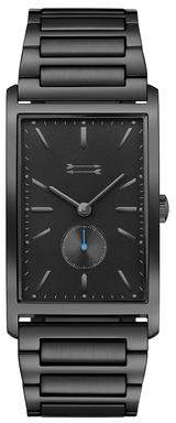 Uri Minkoff Pesaro Black Tone Bracelet Watch, 27MM X 45.5MM