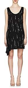 Prada Women's Crystal-Embellished Tank Dress - Black