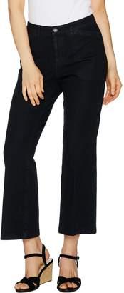 Isaac Mizrahi Live! 24/7 Denim Petite Flare Ankle Jeans