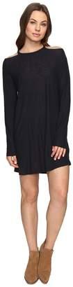 Culture Phit Allyson Long Sleeve Cold Shoulder Dress Women's Clothing
