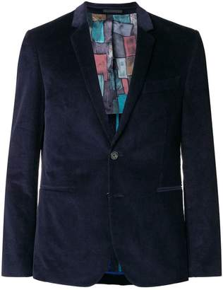 Paul Smith velvet corduroy blazer
