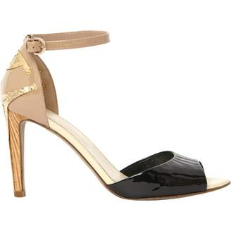 Sergio Rossi Patent Leather Sandals