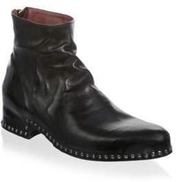 John Varvatos Harrison Studded Zip Boots