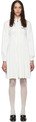Gucci White Pleated Tennis Dress