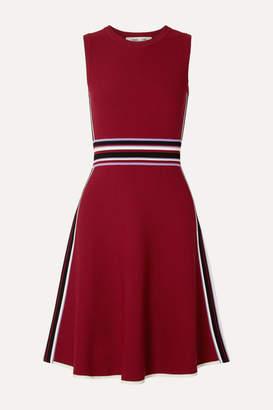Diane von Furstenberg Elsie Stretch-knit Dress - Red