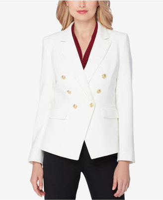 Tahari ASL Double-Breasted Blazer $129 thestylecure.com