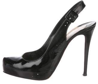 Christian Louboutin Patent Leather High-Heel Pumps