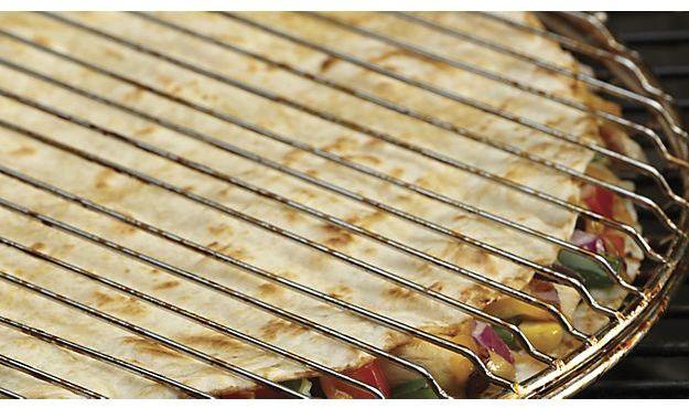 Crate & Barrel Quesadilla Grilling Basket
