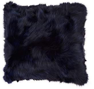 Adrienne Landau Fox Fur Pillow