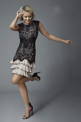 Frank Lyman Tiered Lace Dress