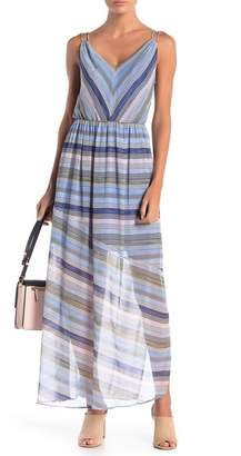 Cynthia Steffe CeCe by Jordan V-Neck Sleeveless Maxi Dress