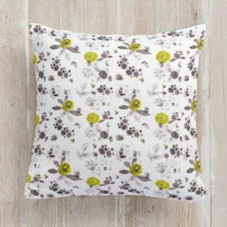 LEMON ROSE Self-Launch Square Pillows