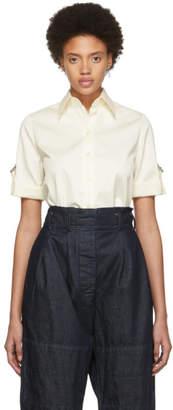 Givenchy Off-White Short Sleeve Shirt
