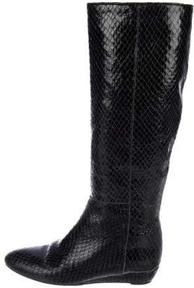 Loeffler Randall Embossed Knee-High Boots