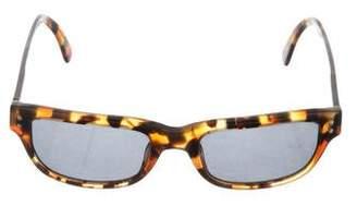 Giorgio Armani Tortoiseshell Tinted Sunglasses