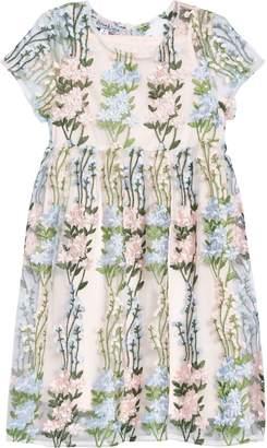 Pippa & Julie Embroidered Floral Dress