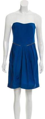 See by Chloe Strapless Pleated Dress