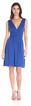 Star Vixen Women's Sleeveless Empire-Waist Dress