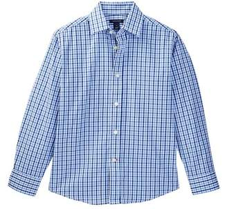 Tommy Hilfiger Alternating Gingham Shirt (Big Boys) $34.50 thestylecure.com