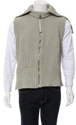 Alexander Wang Knit Zip-Up Sweater Vest
