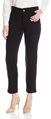 Lee Indigo Women's Petite Ponte Slim Pant