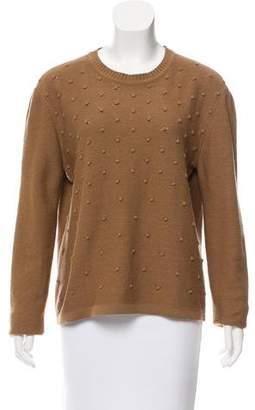 Sonia Rykiel Pom-Pom Accented Sweater