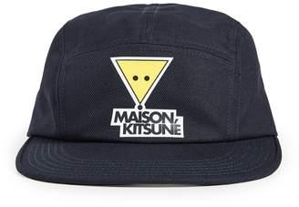 MAISON KITSUNÉ Smiley Fox Print Cap